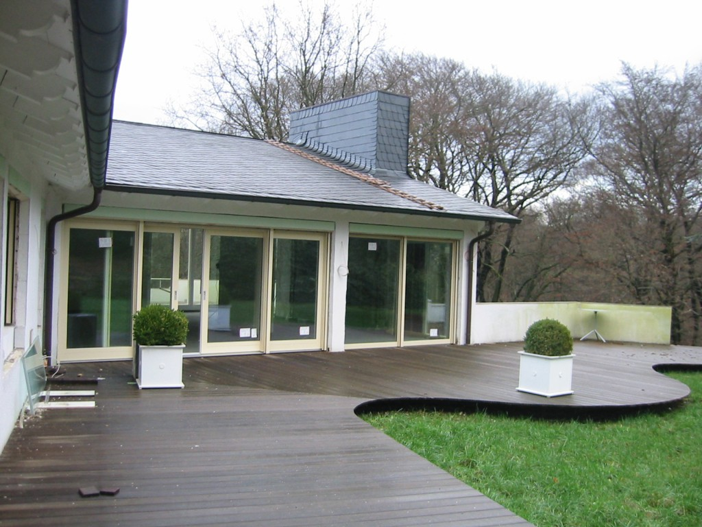 Terrasse, klassisch-edel